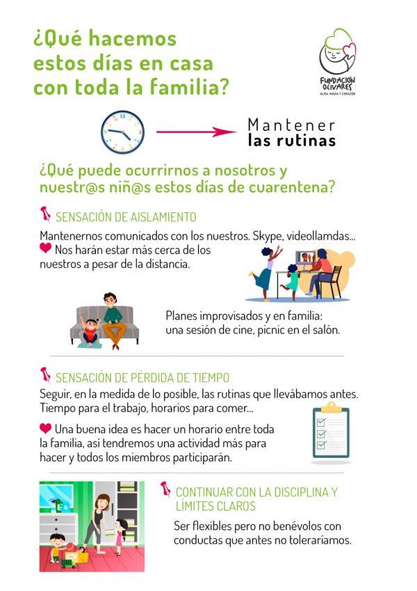 Consejos psicologa Fundación Olivares