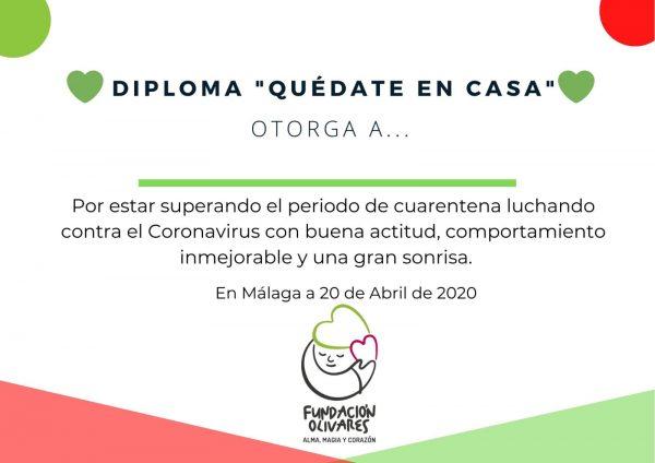 Diploma Fundación Olivares